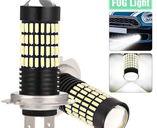 ambother h7 nebelscheinwerfer led nebellicht 4014 smd 102. Black Bedroom Furniture Sets. Home Design Ideas